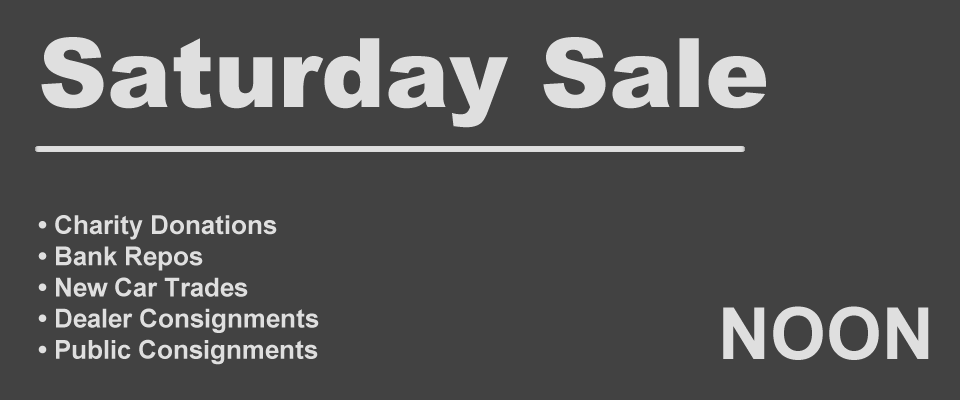 saturday sale at noon