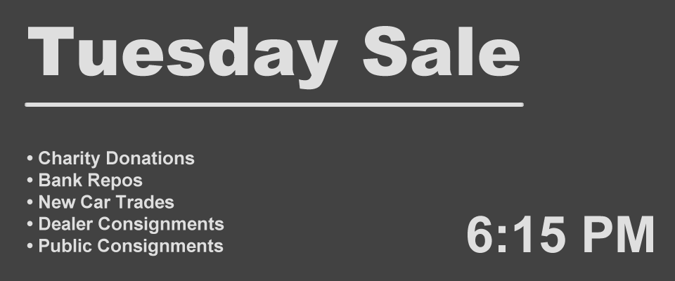 tuesday sale at 6 PM