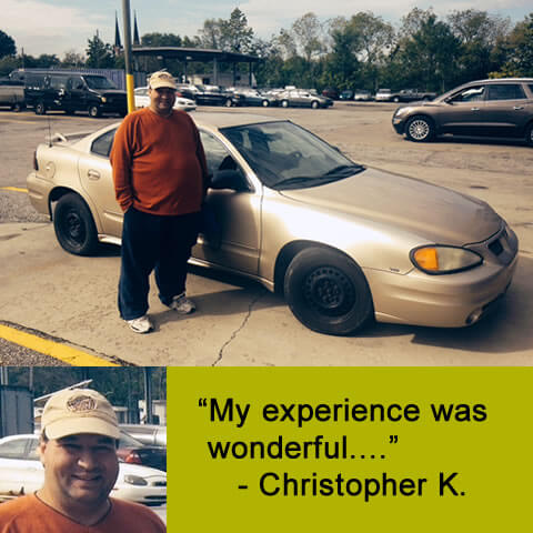 """""""My experience was wonderful...."""" - Christopher K."""